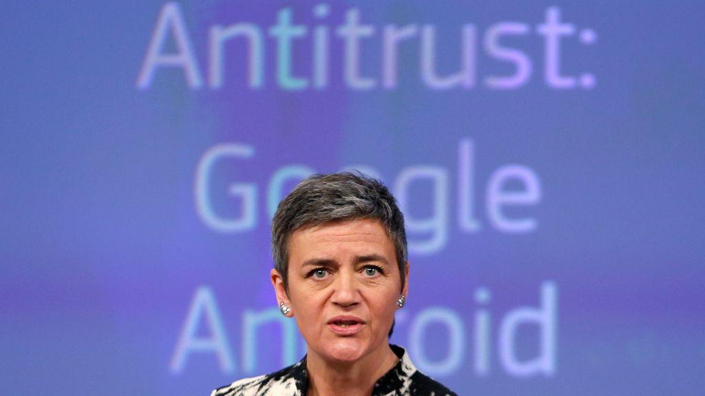 Margrethe Vestager defiende la acusación contra Google