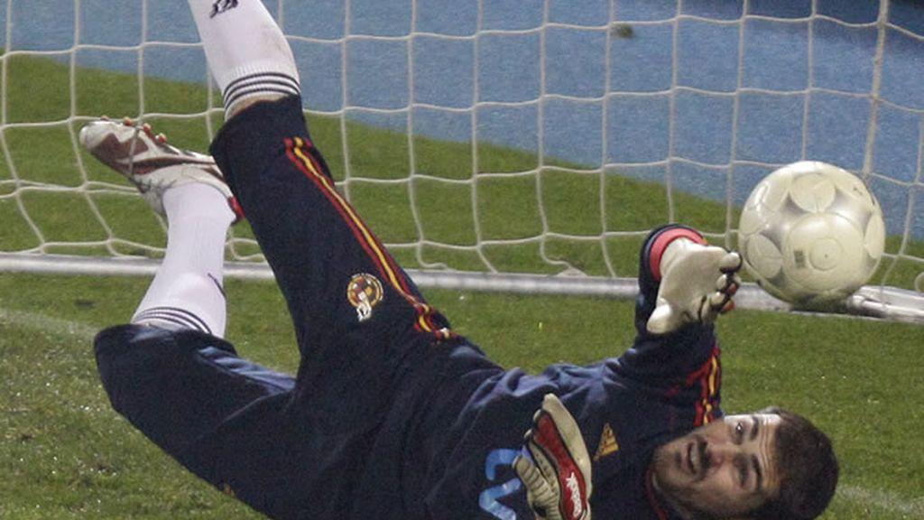 Iker, capitán de la selección española