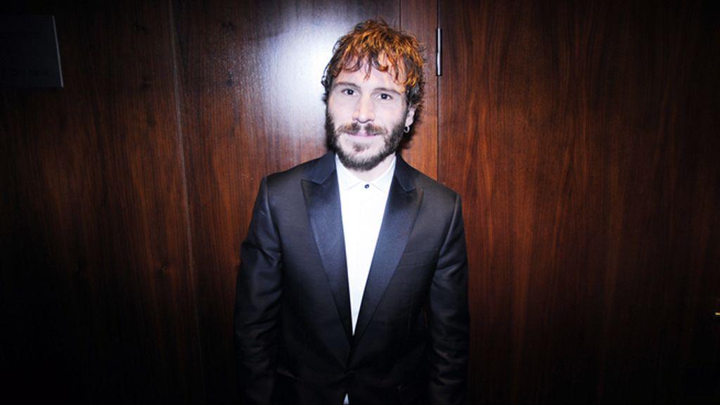 Rubén Ochandiano acudió vestido de Dsquared