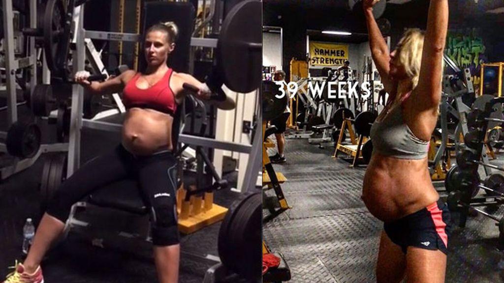 embarazada cachas,Oxana Rumyantseva,programa físico embarazo,Ejercicios embarazo,programa entrenamiento embarazadas