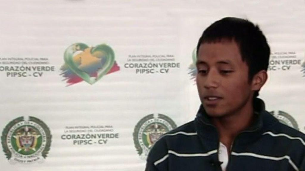 Andrés Achípiz, sicario con 19 años