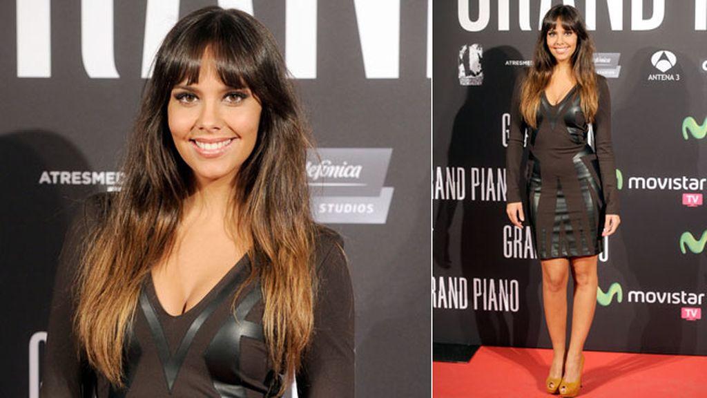 Cristina Pedroche lució un vestido negro