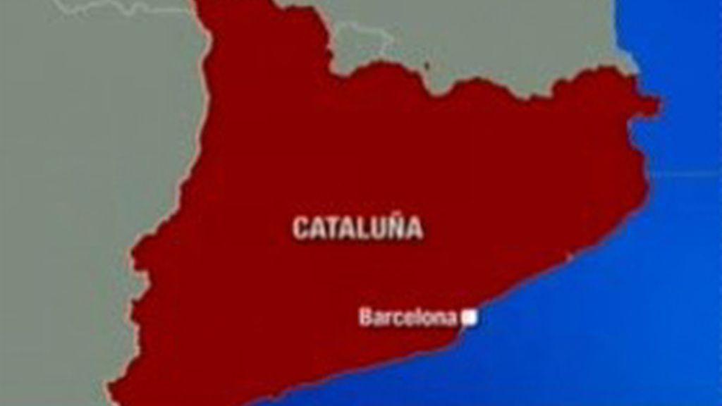 Mapa de Cataluña