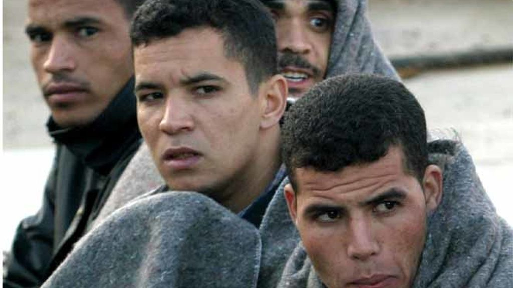 Inmigrantes de origen magrebí
