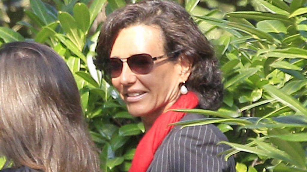 Ana Patricia, nueva presidenta del Banco Santander