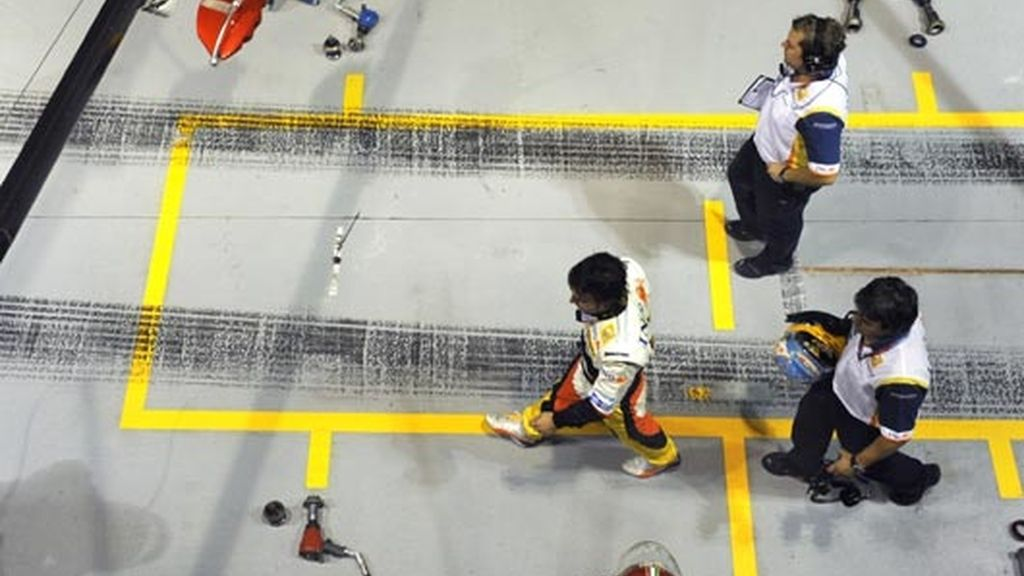 Alonso saldrá a darse un 'paseo' por Singapur