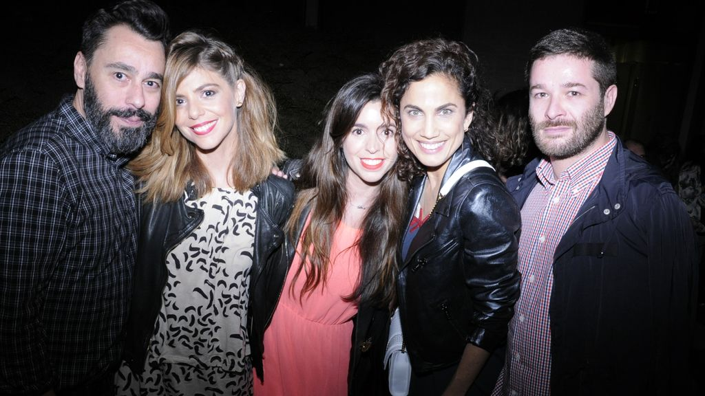 Juanjo Oliva, Manuela Velasco, Carlota Velasco, Toni Acosta y Jeff Bargues