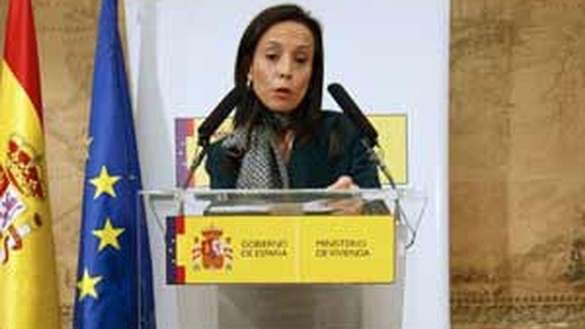 La ministra de Vivienda, Beatriz Corredor, ha presentado el borrador del nuevo PEV 2009-2012. Foto: EFE