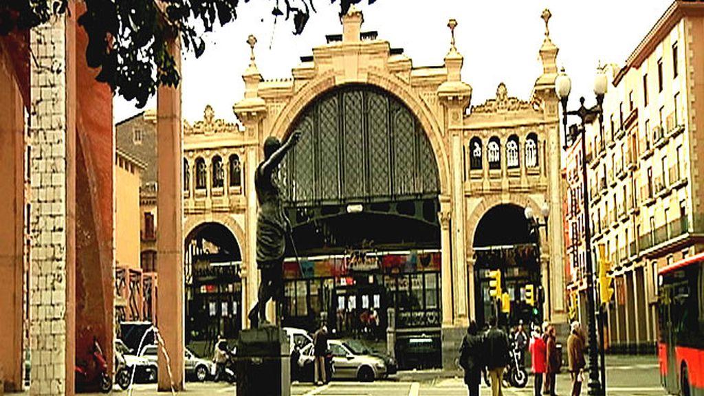 Fachada del mercado de Zaragoza