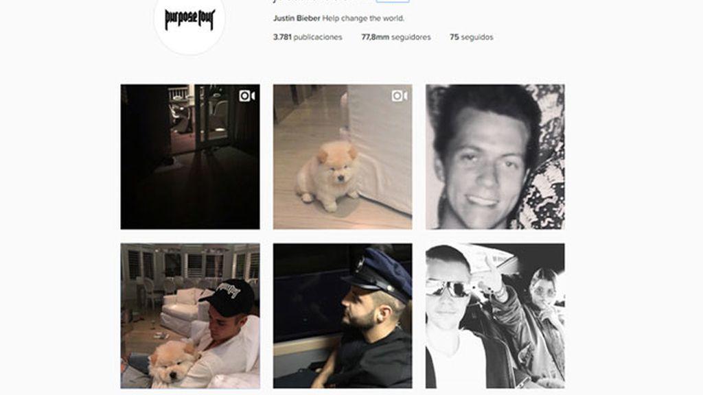 Justin Bieber reactiva su cuenta de Instagram
