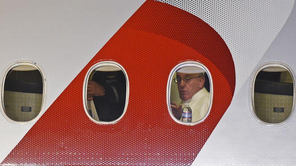 El Papa abandona EEUU tras seis días de visita