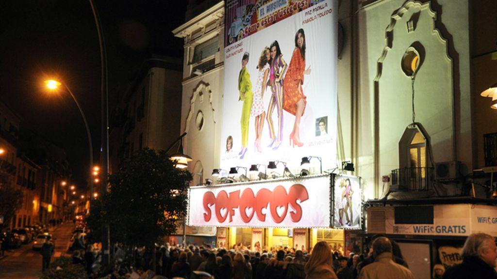 """El castizo teatro Nuevo Apolo acoge, desde ayer, la obra """"Sofocos"""""""