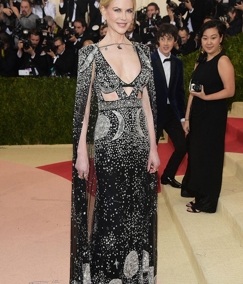 Nikole Kidman vestida de McQueen