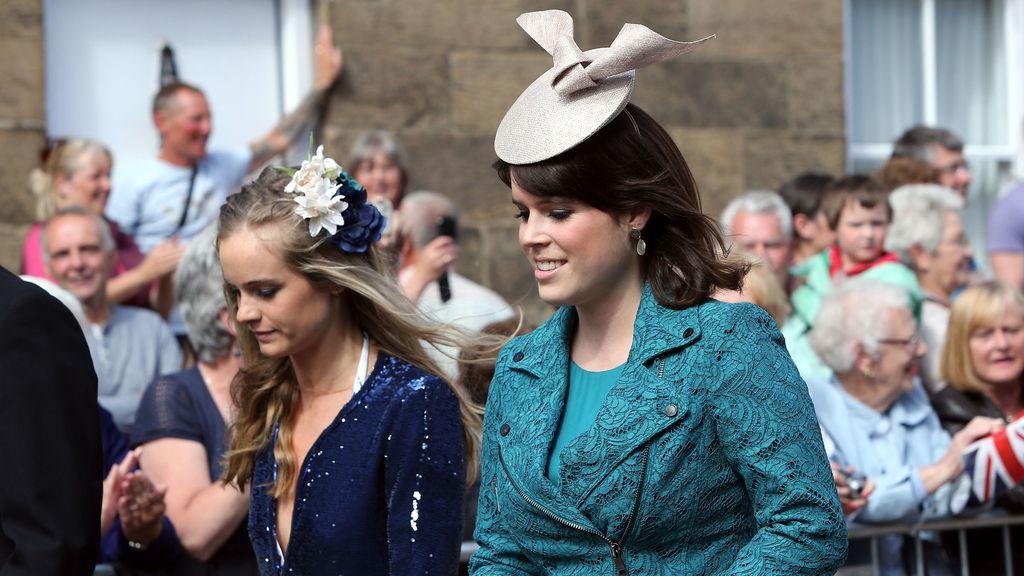 Cressida Bonas junto a la princesa Eugenia