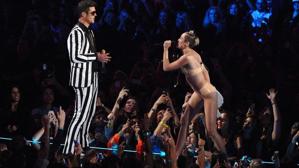Miley Cyrus, la más sensual de los MTV