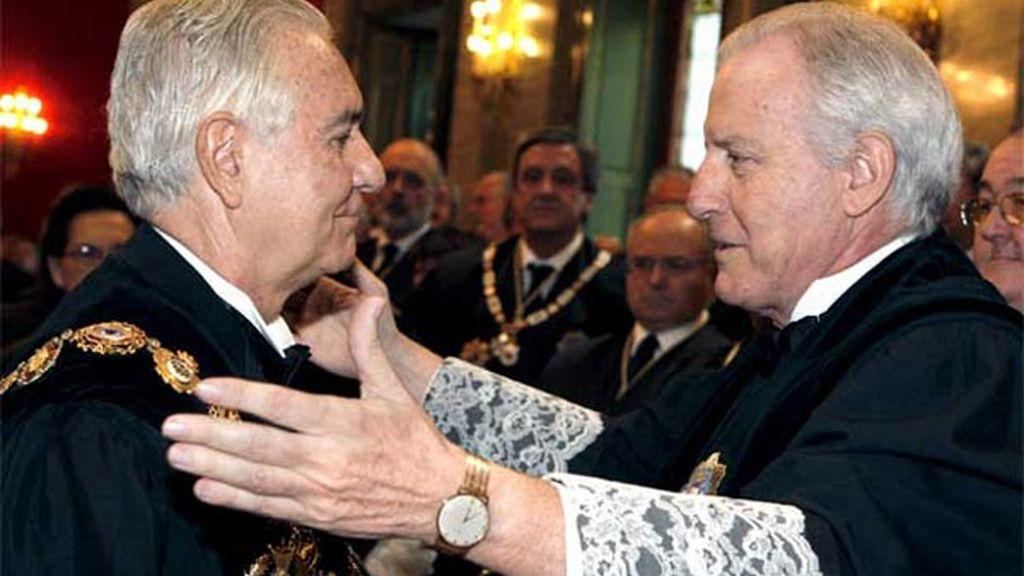 Apertura del Año Judicial y toma de posesión de Carlos Dívar