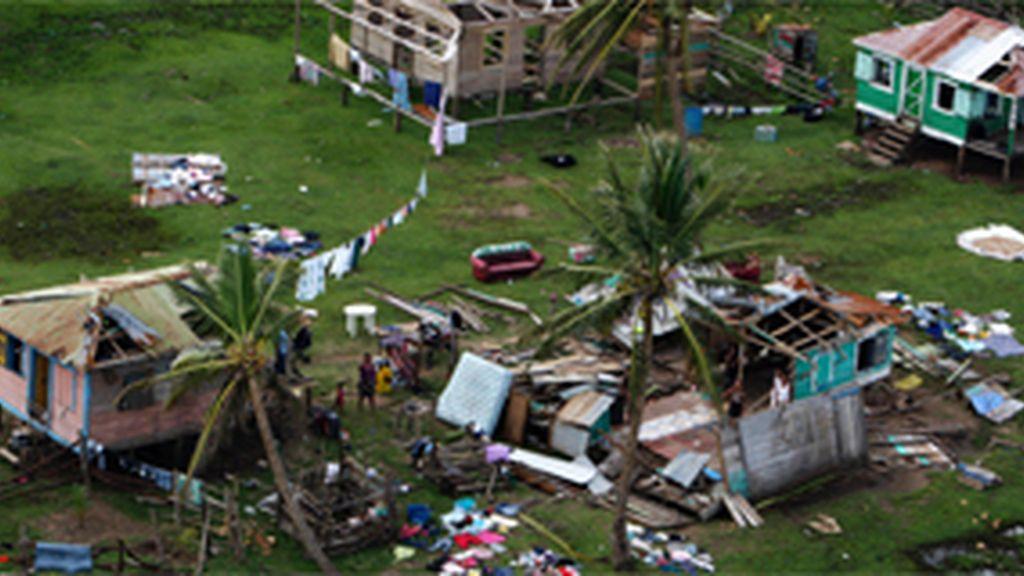 Huracán en El Salvador