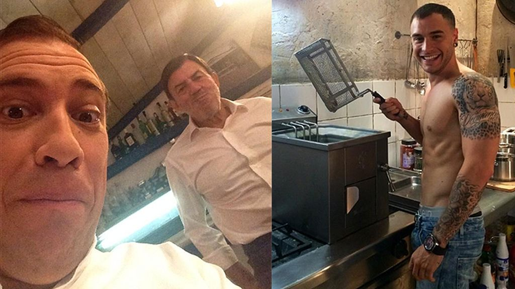 El Langui, J. Bonilla y A. Rodríguez: ¡nuestro querido trío fritanga vuelve a la acción!