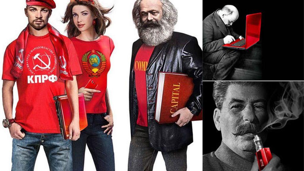 Propaganda del Partido Comunista ruso