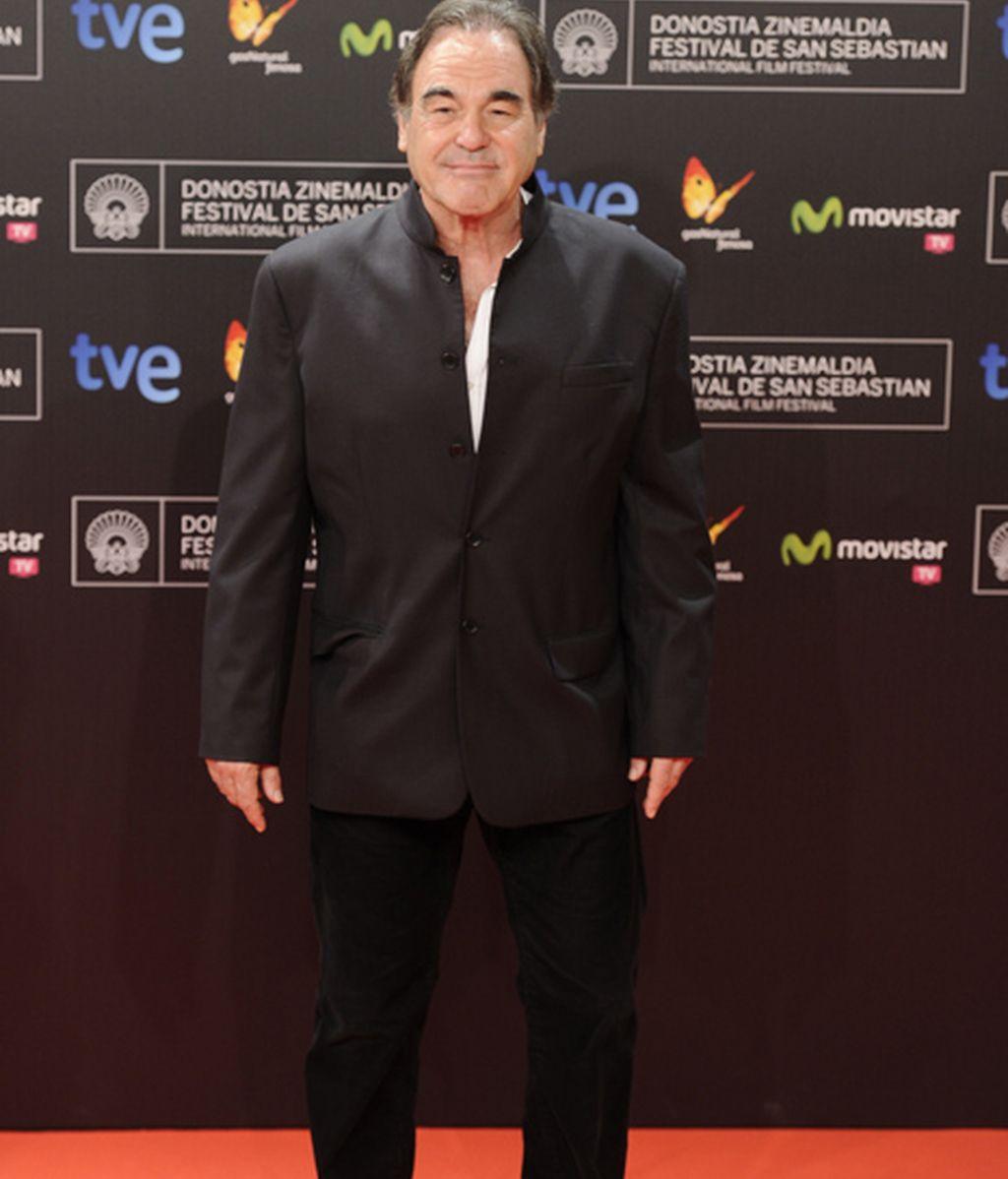 El director de cine Oliver Stone
