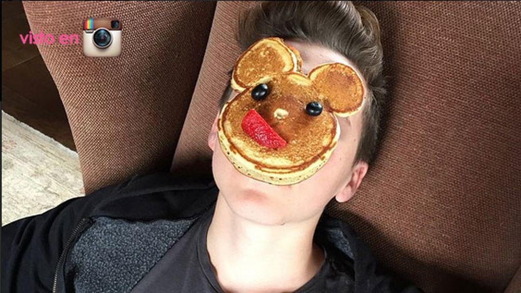 El desayuno de Pascua de los Beckham
