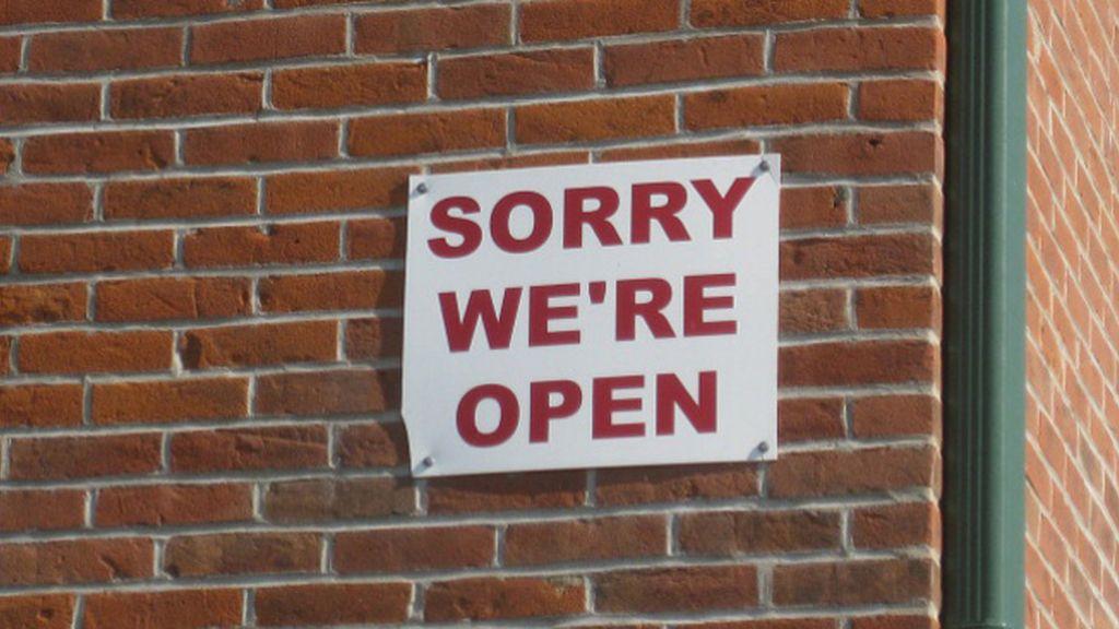 Perdón, estamos abiertos