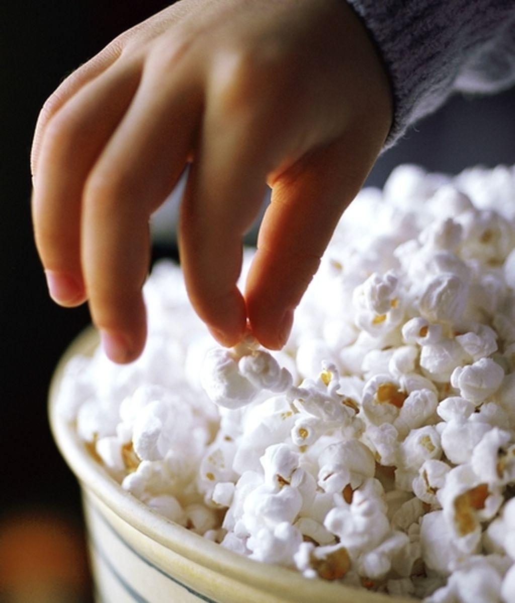 Las películas dramáticas hacen comer más