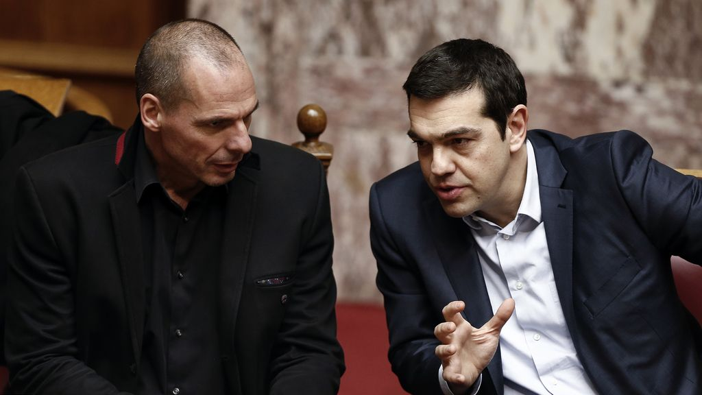 Tsipras y Varoufakis