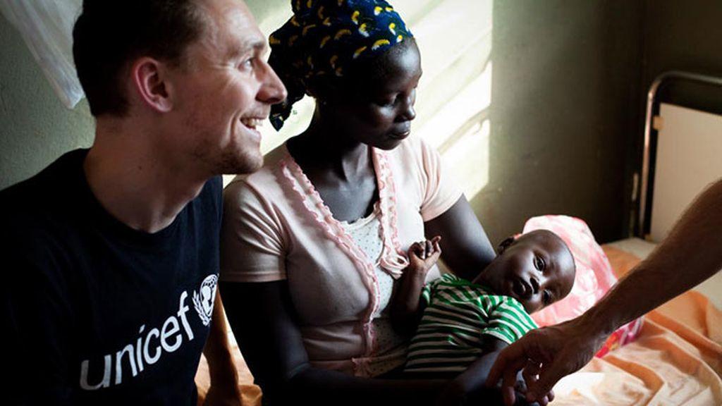 También está comprometido con UNICEF, es embajador de la ONG