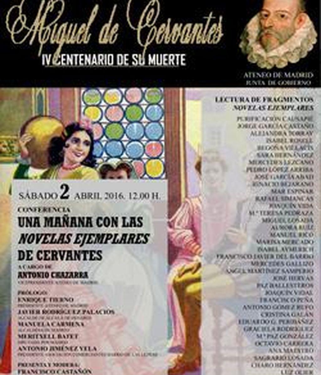 IV Aniversario de la muerte de Cervantes Ateneo de Madrid