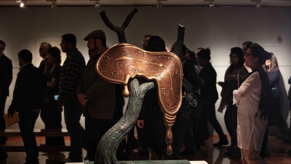 Inauguración de la exposición de 'Dalí. Obsesiones' en México
