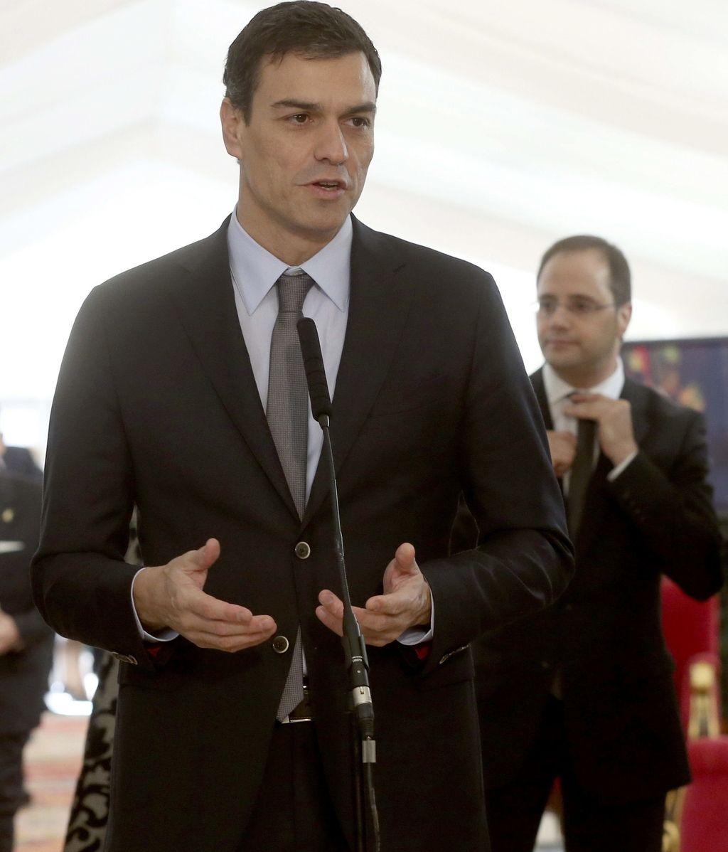 Pedro Sánchez en el aniversario de la Constitución