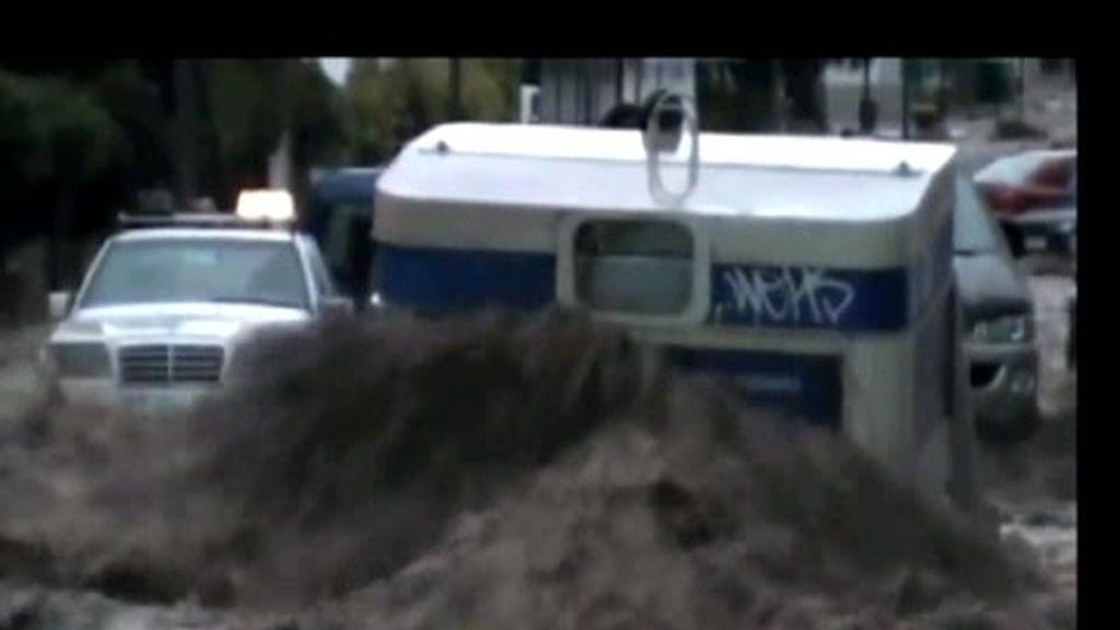 Hasta 200 litros por metro cuadrado en Canarias