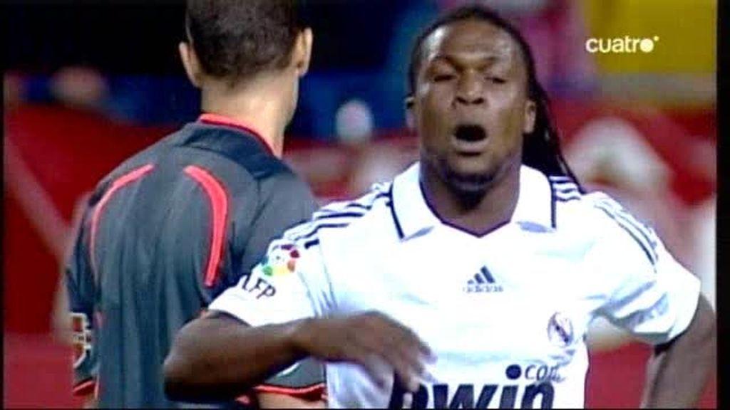 Así pasó Drenthe por Madrid