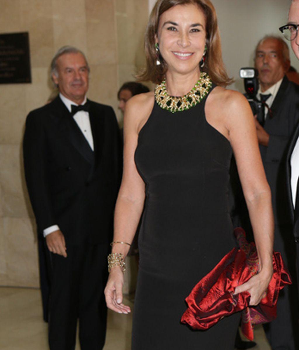 La escritora Carmen Posadas, viuda de Mariano Rubio