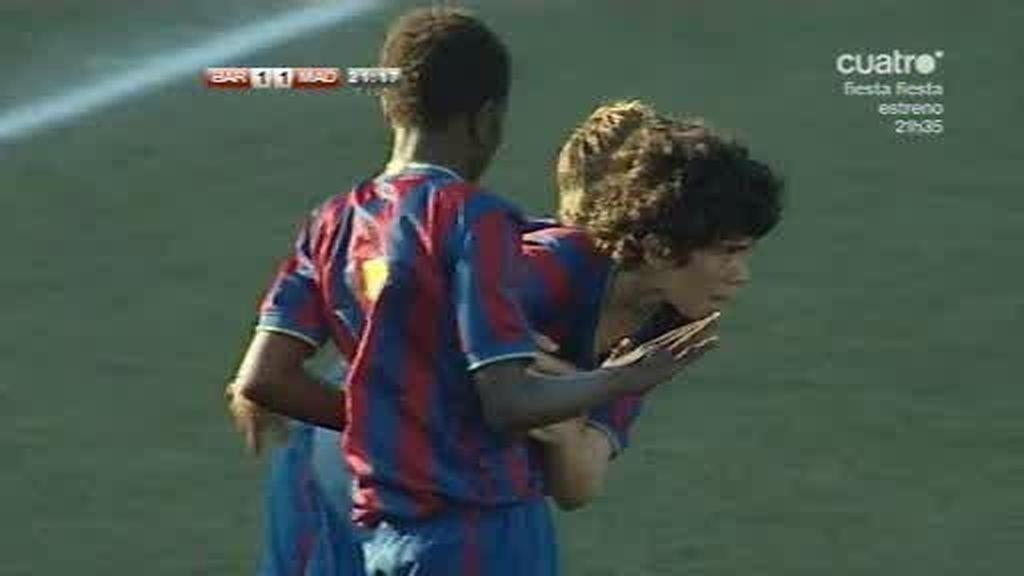 Fútbol 7: Carles empata la final