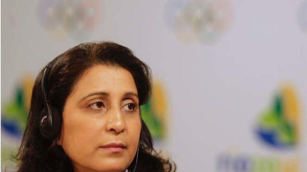 Nawal El Moutawakel, presidenta de la comisión del Comité Olímpico Internacional