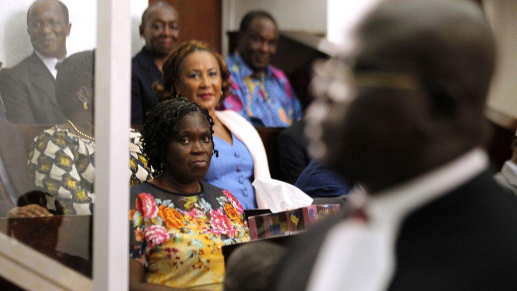 La exprimera dama de Costa de Marfil Simone Gbagbo