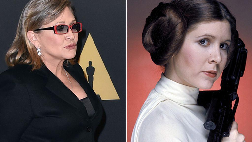 """Carrie Fisher: """"Me obligaron a perder 15 kilos para Star Wars: El despertar de la Fuerza"""""""