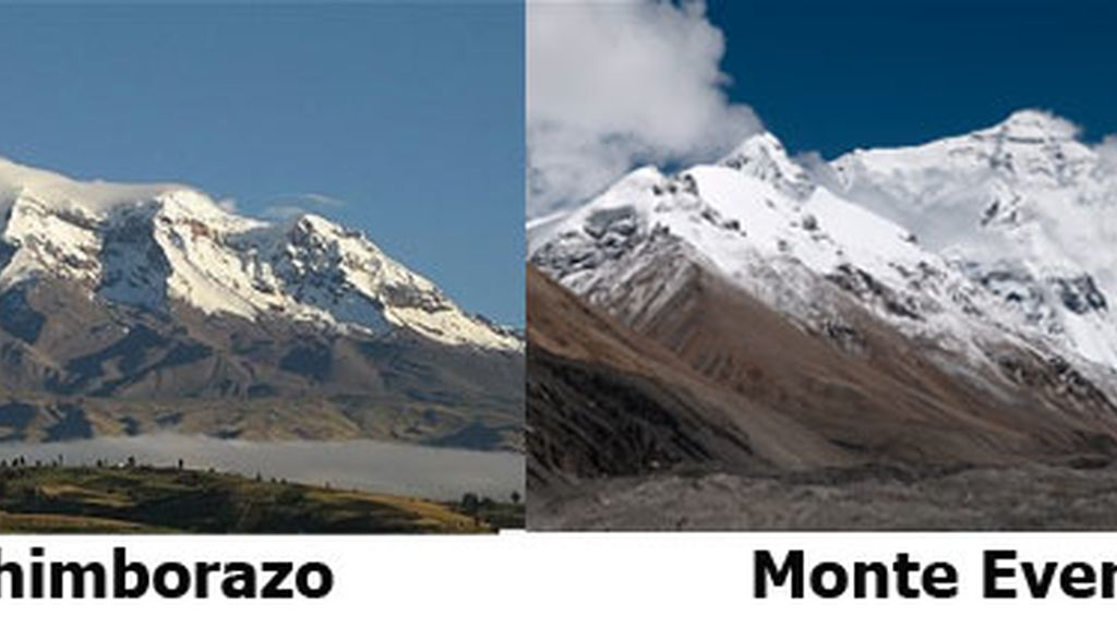 Chimborazo,Monte Everest,