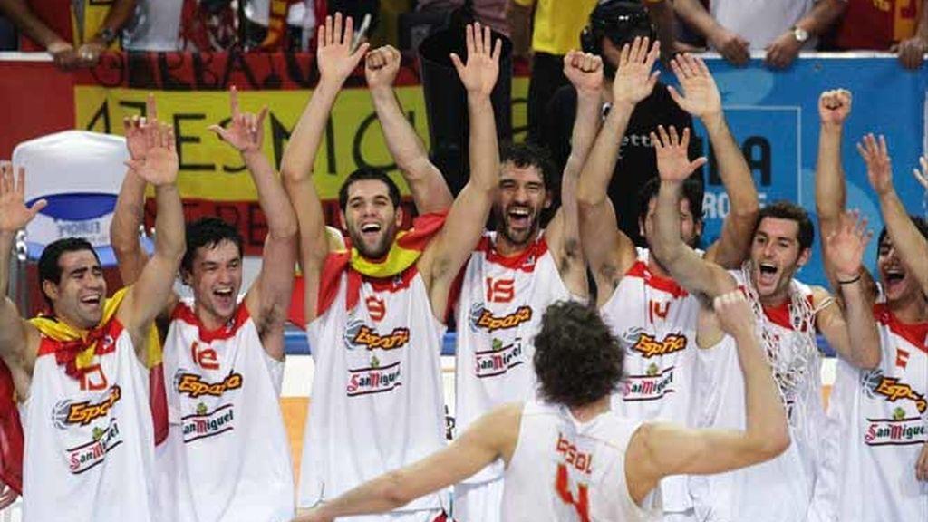 Campeones del Eurobasket
