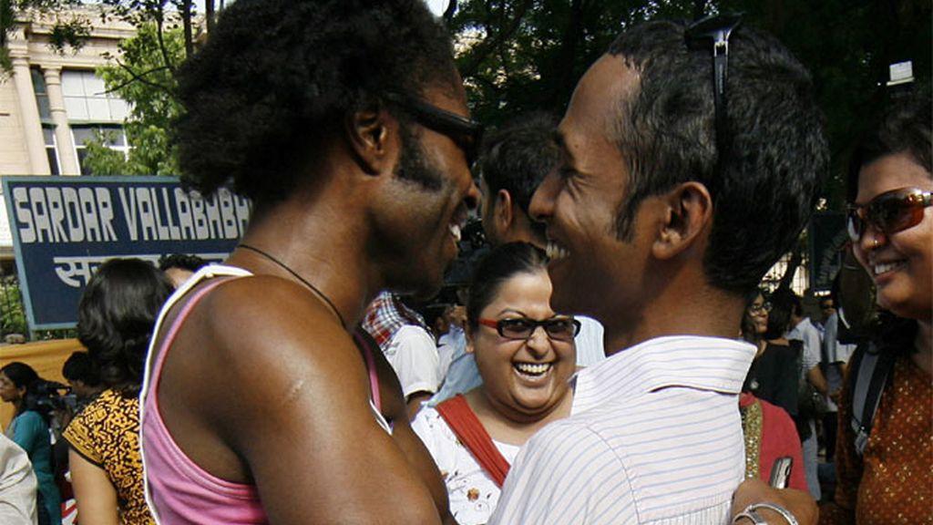 Homosexuales indios, de celebración