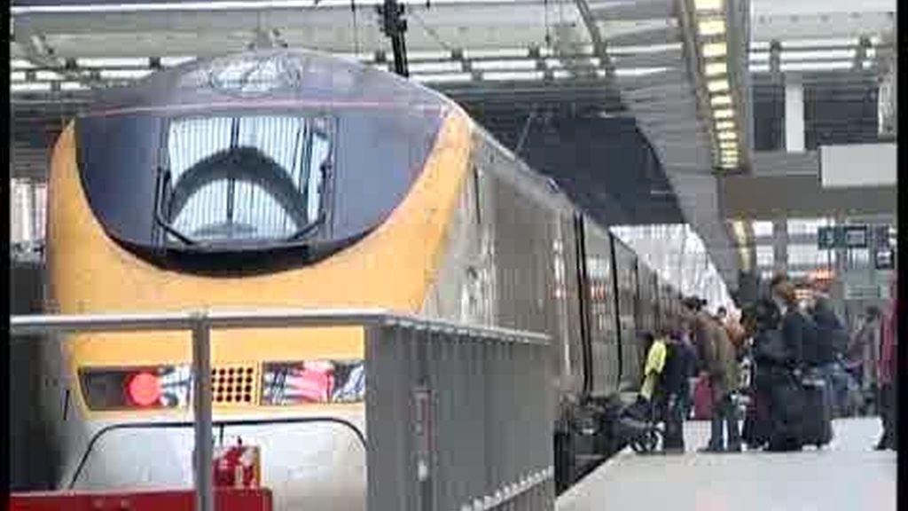 Vuelven a funcionar los trenes Euroestar