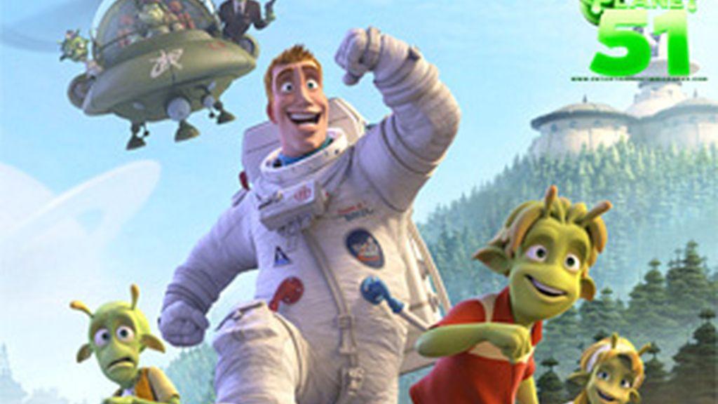 'Planet 51' recauda 40 millones de dólares en su primera semana