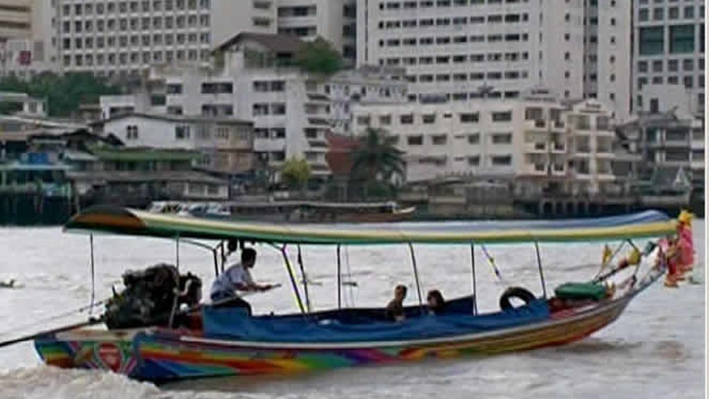 Por las aguas de Bangkok