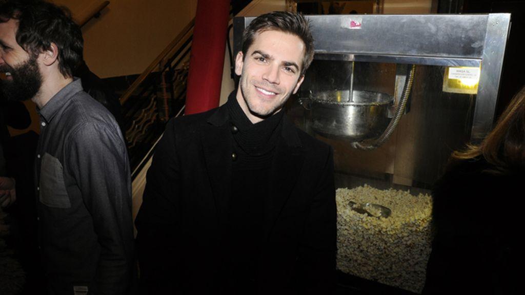 Marc Clotet fue otro de los invitados al estreno