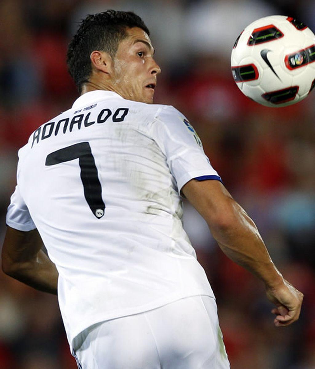 La espaldinha de Cristiano Ronaldo