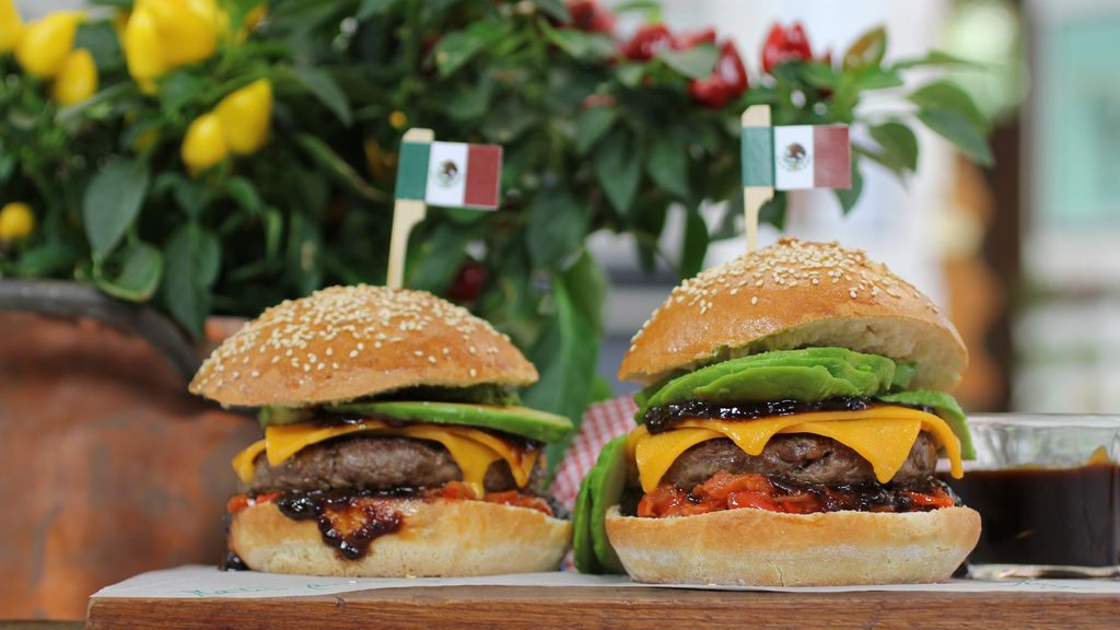 Hamburguesa mexicana de Robin Food