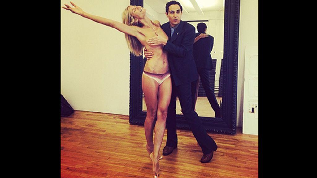 "Heidi Klum, la última modelo en sumarse a la lista del ""falso topless"""