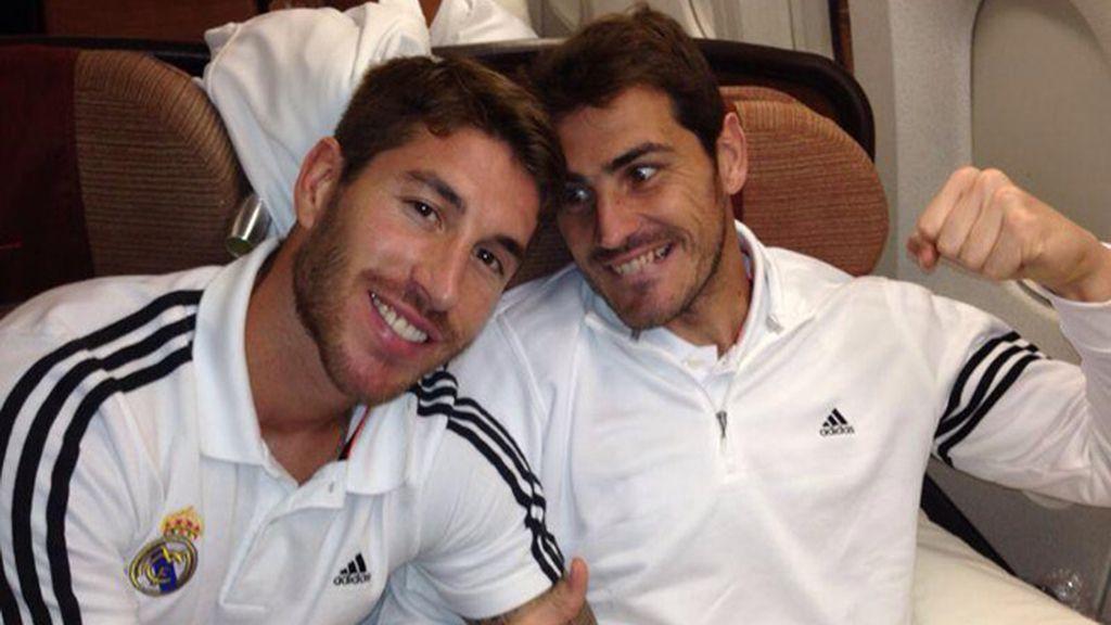 Sergio Ramos hace las paces con Iker Casillas y lo cuelga en Twitter